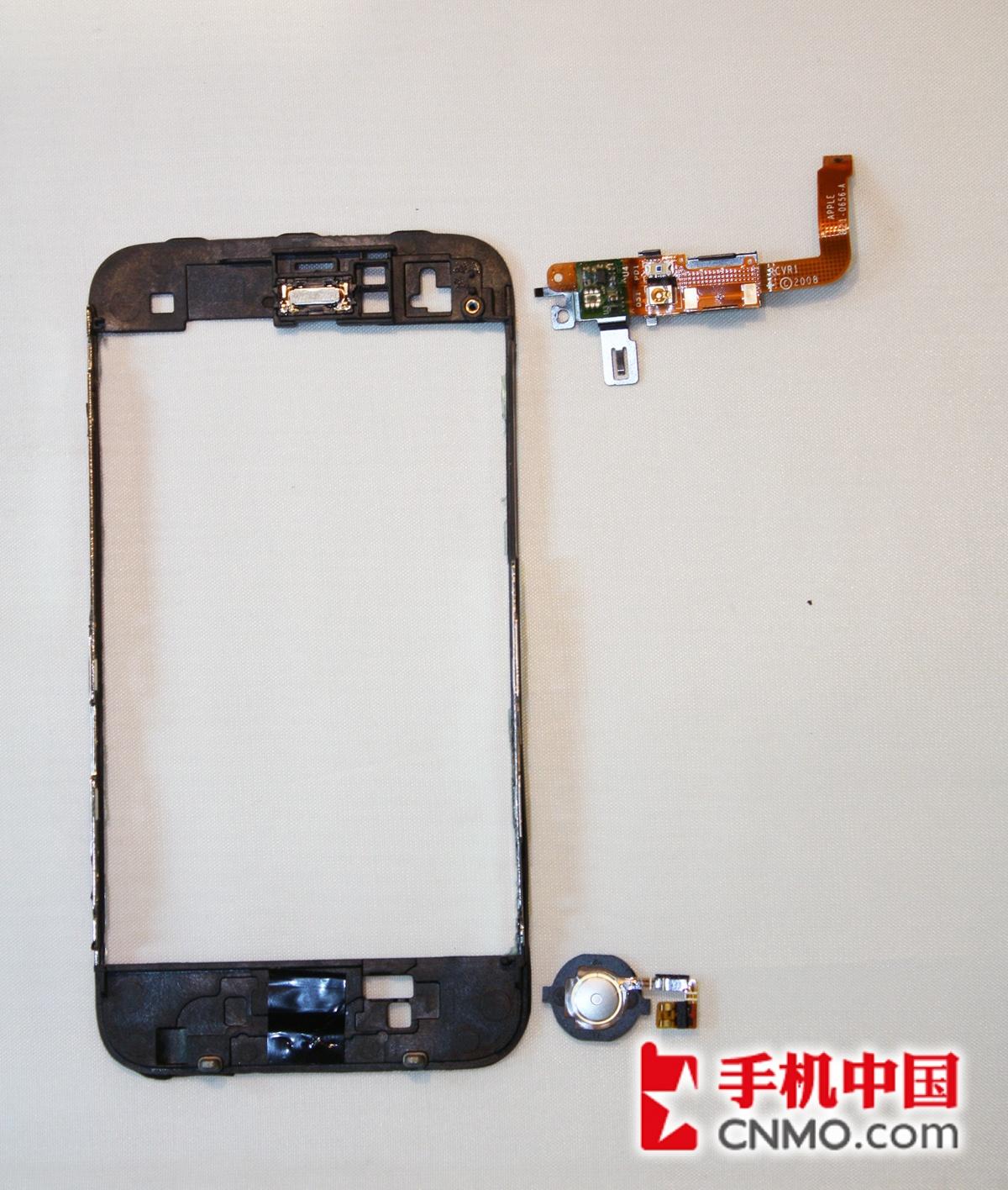 大卸八块 苹果iphone 3gs完全拆机图解
