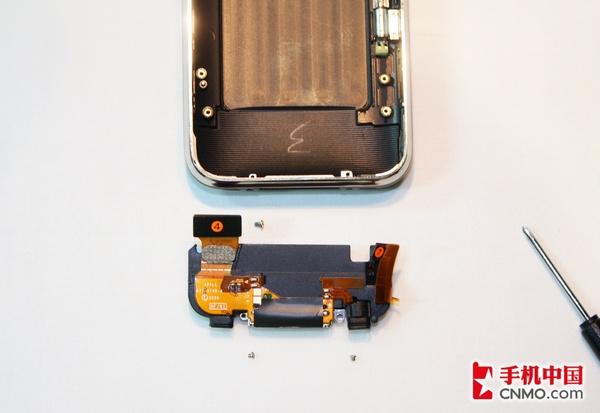 大卸八塊 蘋果iphone 3gs完全拆機圖解 手機圖片 手機中國