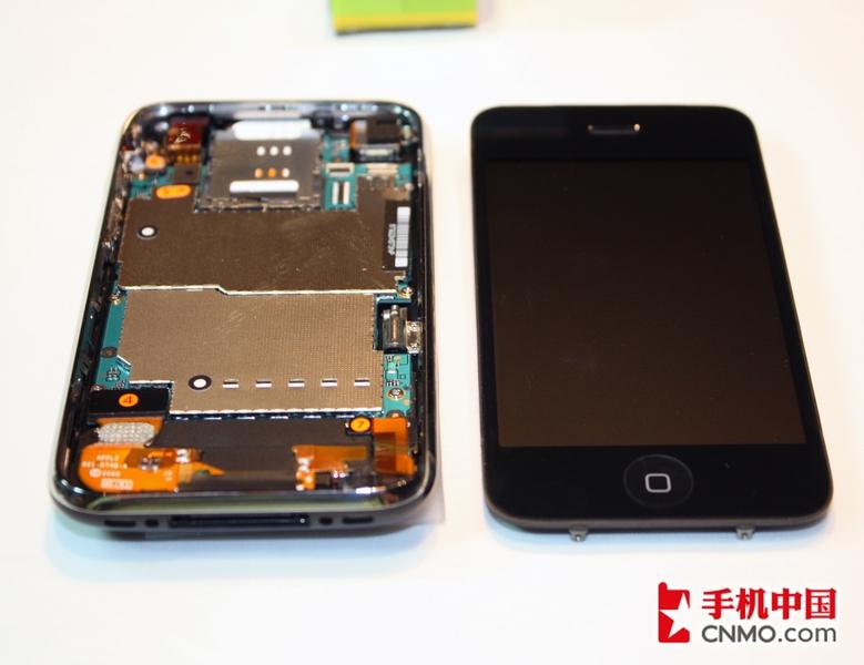 苹果iphone 3gs完全拆机图解