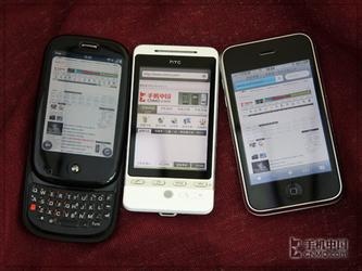 Hero/iPhone/Palm Pre多点触控强机对战