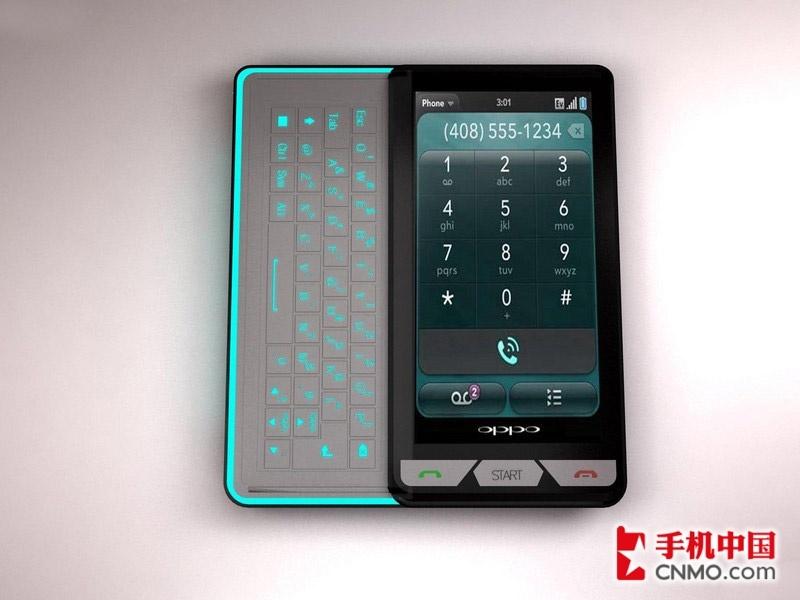 oppo首款android智能手机设计图曝光