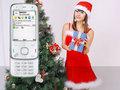 魅族M8领衔 圣诞美女与时尚手机美图赏