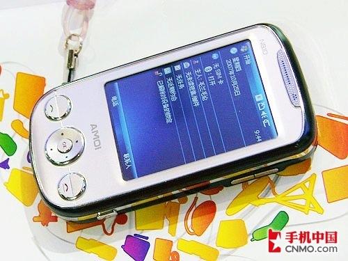 简洁时尚GPS智能机 夏新N810精美图赏