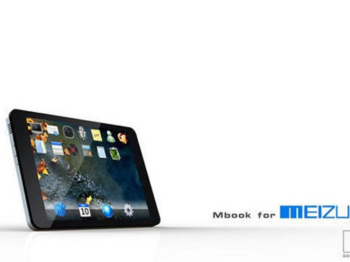 超越苹果iPad 魅族mBook平板电脑曝光
