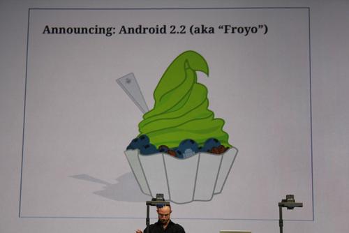 更多新功能 谷歌发布Android 2.2系统