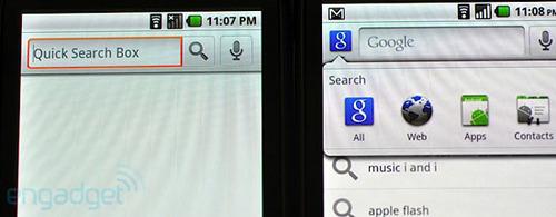 图文对比2.1版Android 2.2性能提升大
