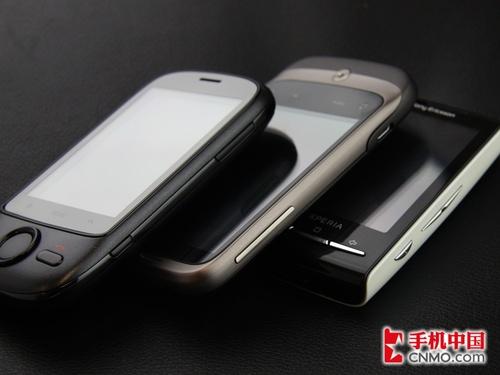 手机的按键和接口部分解析 索尼爱立信Xperia X10mini