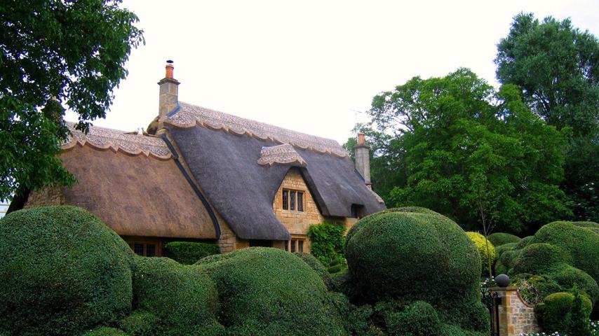 英国庄园,国外园林景观,园林风光,园林设计,园林素材,园林建筑