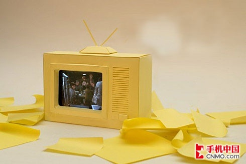 冬季复古风流行 iphone变成老式电视机