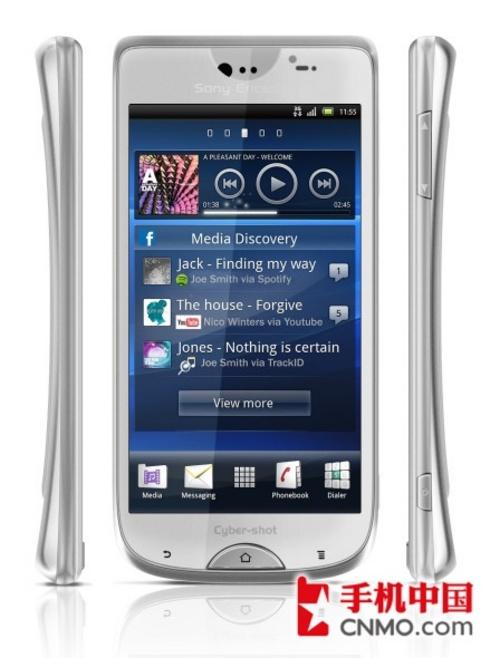 索尼爱立信公司Cyber-shot品牌全新智能手机图片-1600万像素智能 索