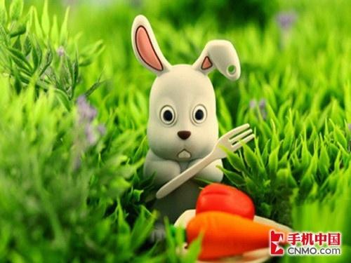 小兔子,真可爱,爱吃萝卜和青菜