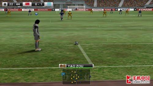堪比游戏机 索尼爱立信Z1i试玩实况足球