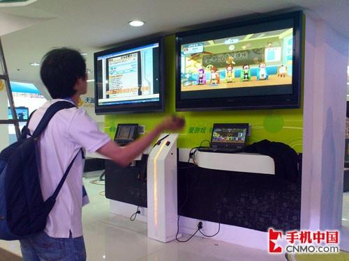 2011通信展探班 电信倡导应用鼓励扫码