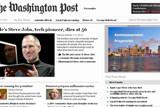 华盛顿邮报网站