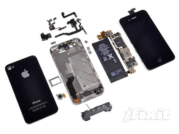 iphone 4s拆机详解图集