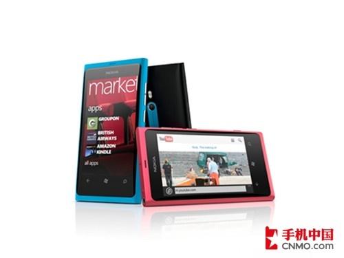 1.4GHz诺基亚首款WP7手机Lumia 800发布