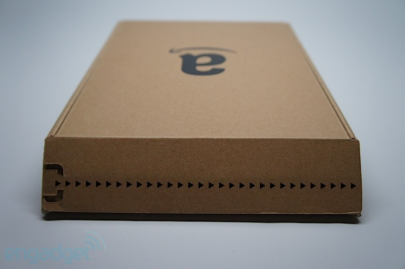6寸亚马逊电子书 Kindle Touch开箱图