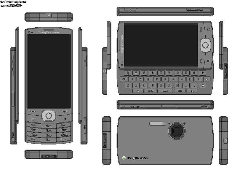造型别致 索尼爱立信最新曝光手机一览