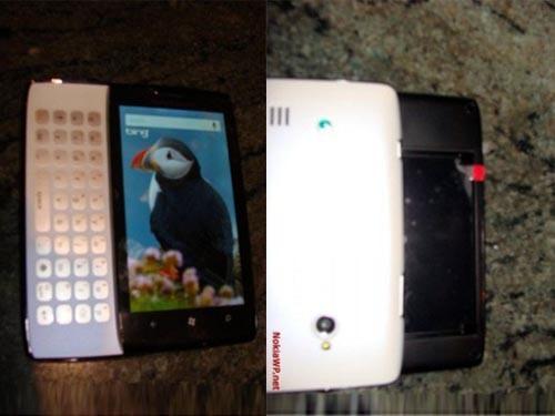 sony最新手机-索尼爱立信品牌 侧滑盖WP7新机再曝光