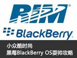 小众酷时尚 黑莓BlackBerry OS耍帅攻略