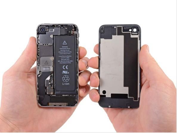 苹果4s手机拆机图解