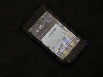 5英寸巨屏双网Android 经纬Gnote评测