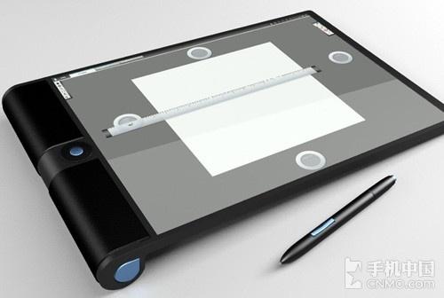 设计师创意爆发 最炫的未来平板概念图