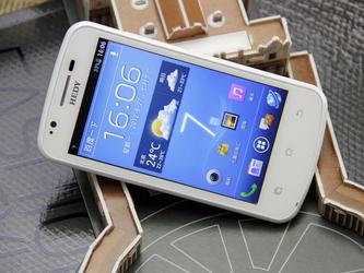 4.3寸屏800万像素 3G双卡七喜H706评测