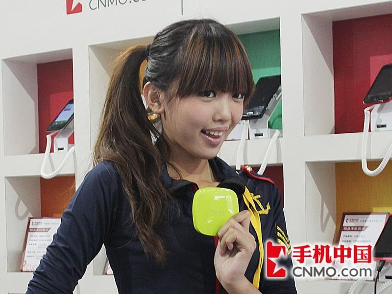 2012通信展:手机中国妹纸秀清纯可爱