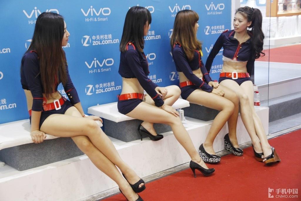 众美女长腿小蛮腰香艳后台