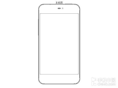 全新设计 魅族mx 2外观专利设计图现身_手机新闻_手机