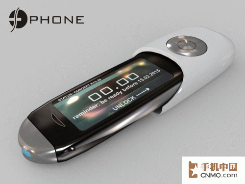造型怪异功能强 前卫概念手机设计欣赏