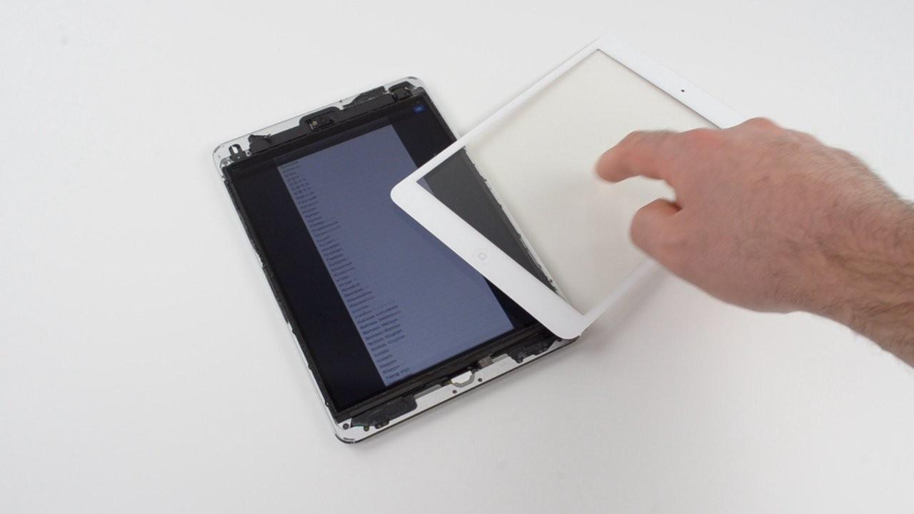 9寸轻薄平板 苹果ipad mini拆机图集