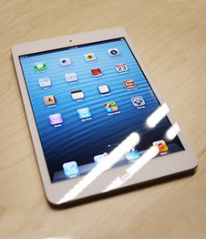 白色iPad mini