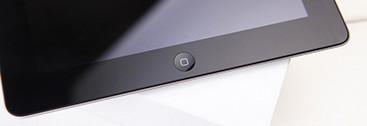 黑色iPad 4