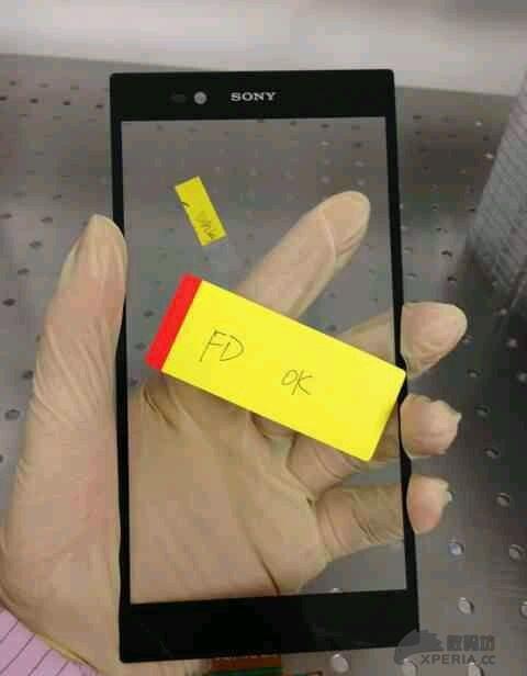 外传索尼xperia的6.44英寸显示屏