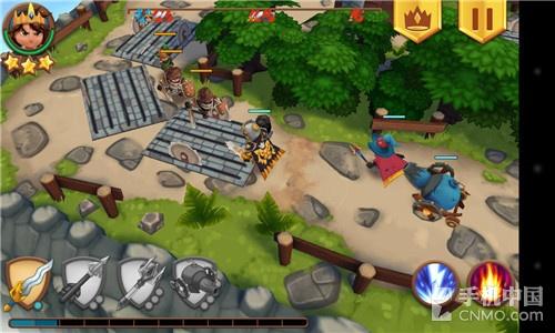 不经意的大作 3D精致防守游戏皇家起义