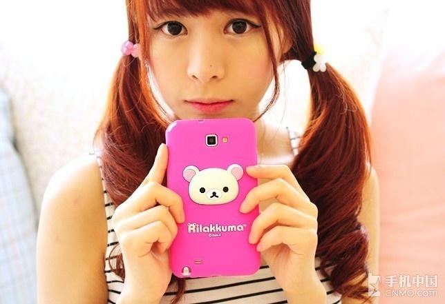 彩虹少女的童话梦想 甜蜜小熊手机壳