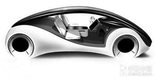 或为乔布斯遗愿 icar智能汽车概念设计