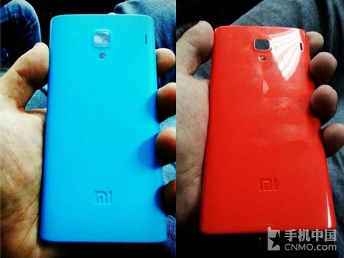 或有多种配色 蓝色版红米手机谍照曝光
