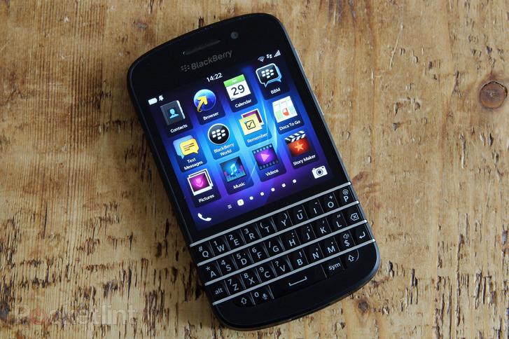 全键盘经典双核旗舰新款 黑莓q10图赏-手机图片-手机中国