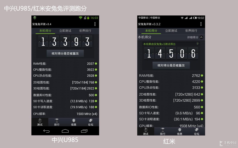 安兔兔评测跑分对比_ 手机 中国