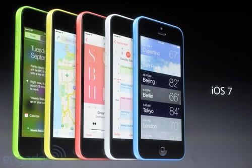 iPhone 5S/5C发布