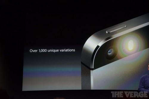 指纹识别+A7处理器 苹果iPhone 5S发布