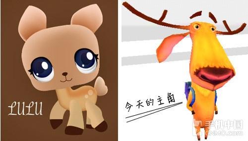 游戏形象与普通鹿的区别 《小鹿狂奔》这款游戏是一款跑酷游戏,虽然是一款2D游戏,但却处处能显现出一丝丝3D的影子。造型上,小鹿也得到了进化,可以只靠两只后腿跑动,并且能跳得很高,难道两驱比四驱好?呃,分情况而论吧。