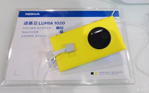 41MP+3倍无损变焦 Lumia 1020现场体验