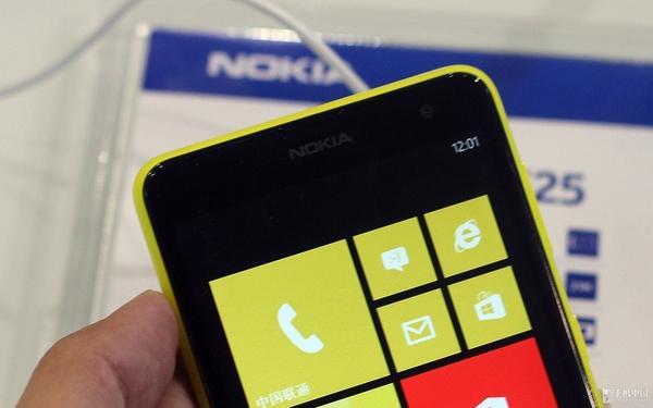诺基亚最大屏手机 Lumia 625现场速评