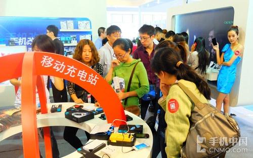 时尚靓丽 ihave产品亮相手机中国展台