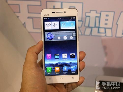 全球最薄四核 vivo X3现身手机中国展台