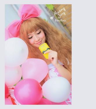 """粉色气球,俏丽蝴蝶,日系小萝莉与电小二""""变形金刚""""的完美结合,为你"""